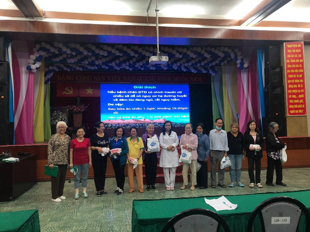 Bệnh viện Thống Nhất tổ chức sinh hoạt khoa học CLB Bệnh nhân Đái tháo đường lần 62