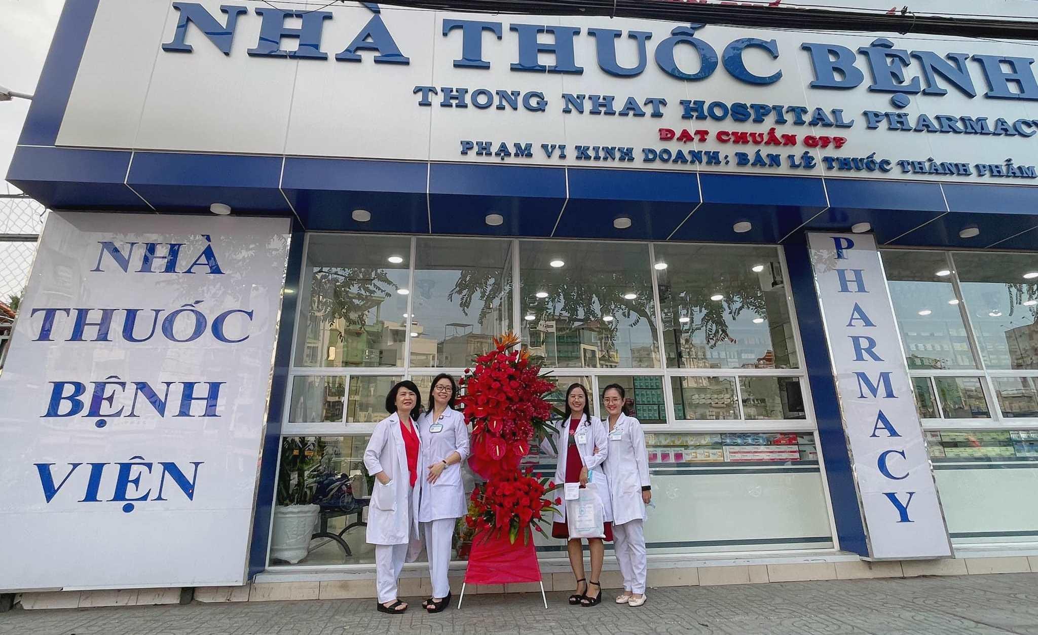 Bệnh viện Thống Nhất khai trương nhà thuốc đạt chuẩn GPP