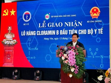 Sản xuất được Cloramin B - Việt Nam đã chủ động hoá chất phòng chống dịch