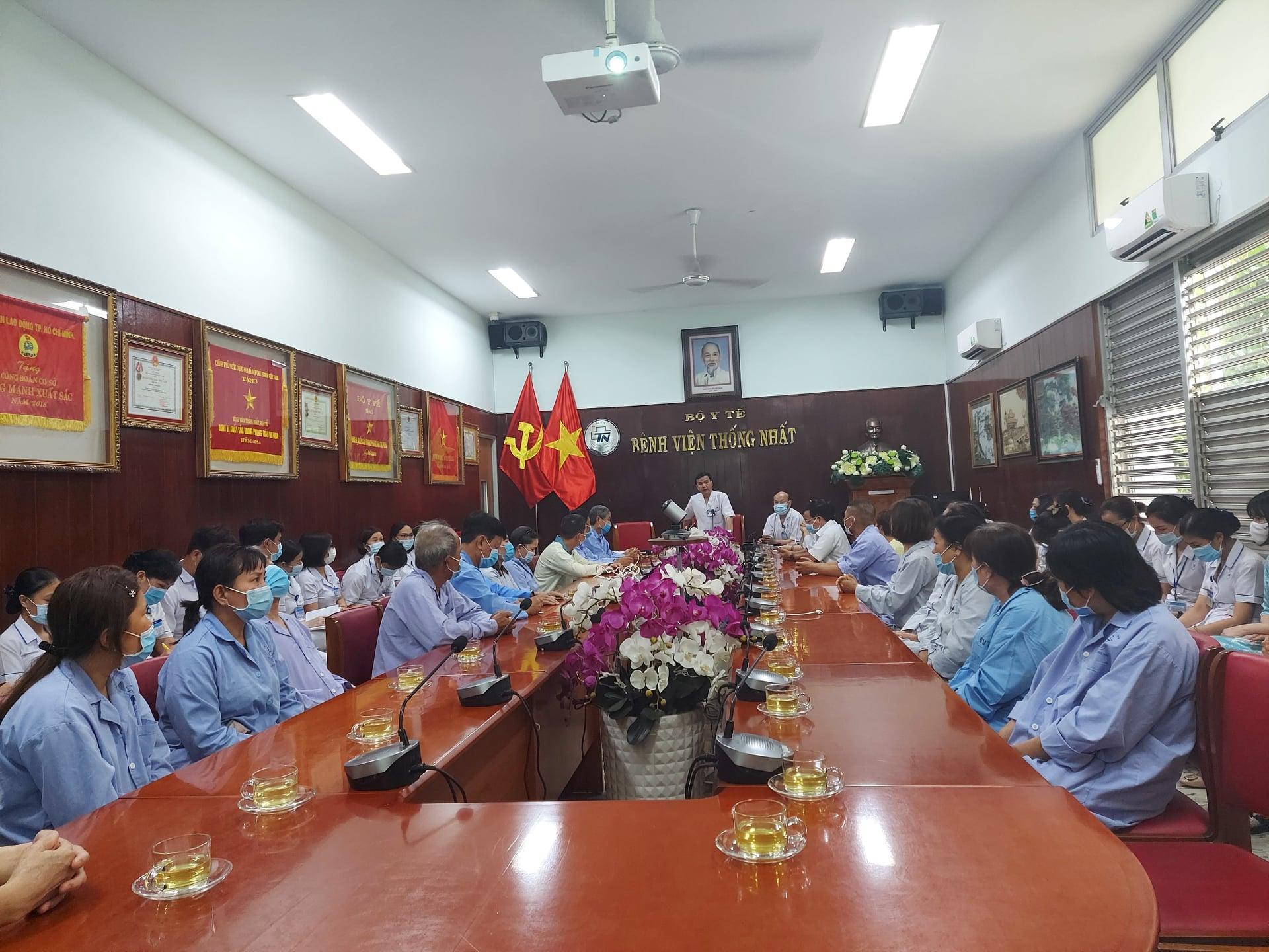 Bệnh viện Thống Nhất tổ chức họp hội đồng người bệnh